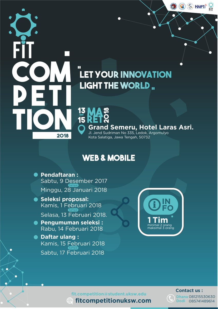 FIT COMPETITION WEB DAN MOBILE 2018